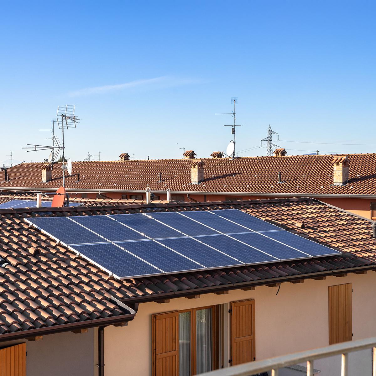 Instalación de panel solar en vivienda en Colmenar Viejo